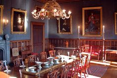 Victorian Dining Room | The Dining Room, Hutton-in-the-Forest