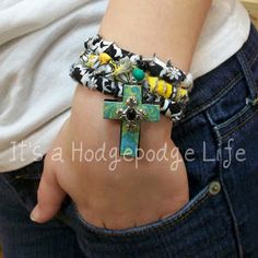 It's a Hodgepodge Life: Rag Bracelet...all grown up!