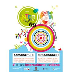 Interculturas Wine Tasting, Exhibitions, Poster