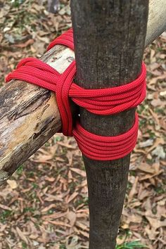 Camp Craft: How to Tie Square Lashings   www.TheSurvivalSherpa.com #survivalgear