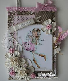Sugar Nellie stamp from www.funkykits.co.uk