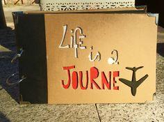 Album de viaje #album #viaje #journey #carton