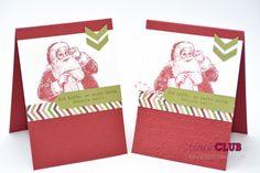 Stampin Up Christmas Weihnachten CASE Catalog Santa's List Wunschzettel Season of Style DSP Stilmix Punch Chevron Border Stanze Pfeilbordüre