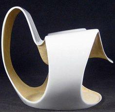 Fauteuil 'Albatros' - Fibre de Verre - Danielle Quarante - Prisunic - 1969