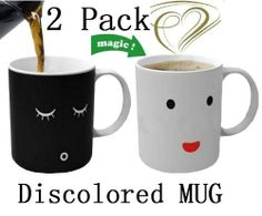 Magic Morning Mug Coffee Tea Milk Hot Cold Heat Sensitive Color-changing Mug Cup,set of 2 Promo - http://mydailypromo.com/magic-morning-mug-coffee-tea-milk-hot-cold-heat-sensitive-color-changing-mug-cupset-of-2-promo.html