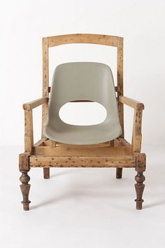 Banana Armchair #anthropologie  $2,200. . .WOW. . . My cost appx $15 at S.A.