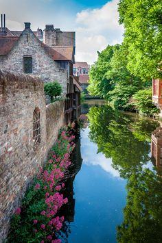 Reflections of Bruges - Belgium
