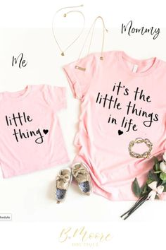 It's the little things in life Mommy and Me set by Plunder #youandme #mommyandme #littlegirl #plunder #bmooreboutique