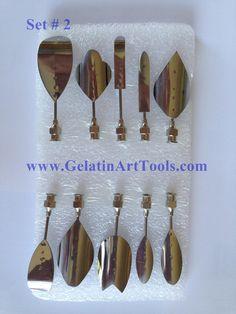 3D Gelatin Art Tools number 2. Set of 10 needles #gubias needles#