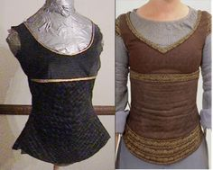 "Eowyn costume--- has fabric paint ""embroidery"""