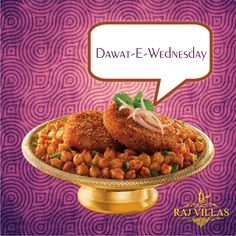 Wonderful #Wednesdays with Dawat-e-Wednesdays, Order your #favorite #food at your favorite place,   www.hotelrajvillas.com
