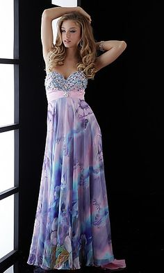 I have absolutely no where to wear this, but its very pretty anyways :)
