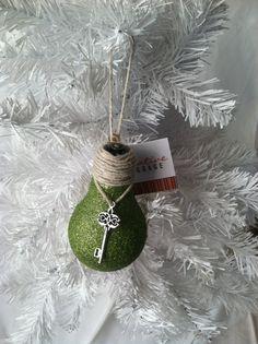 Handmade Christmas Ornaments Lightbulb