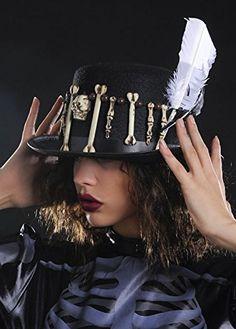 Halloween Voodoo Witch Doctor Top Hat: Amazon.co.uk: Toys & Games