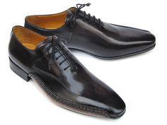 8737fcef010 Paul Parkman Side Sewn Black Oxfords