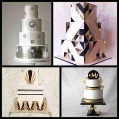 Roaring twenties  cakes