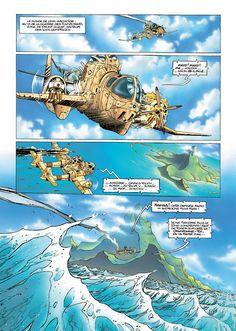 Slhoka Vol. 1: L'île oubliée  #BD #numerique #comixology #soleil