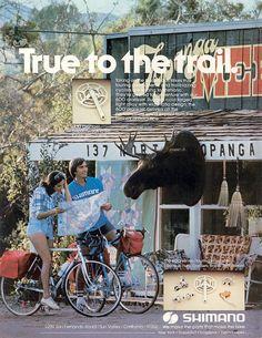 1980's bike touring.
