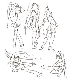 403 Best Character Pose | Gestures (Females) images in 2018