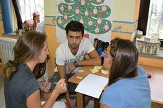 """Workshop Youth in Action, Cosenza 2013, for """"Write Now Write Our Future"""" European Project."""