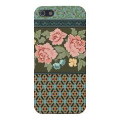 Victorian Roses Design iPhone Case Covers For iPhone 5