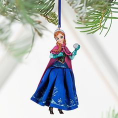 Anna Sketchbook Ornament - Personalizable | Disney Store