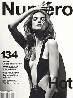 Lindsey Wixson on June's Numero Magazine cover