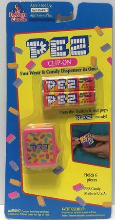 (TAS034715) - 1994 Dream Castle Pink PEZ Clip-On Candy Dispenser