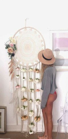 Giant Dreamcatcher Love #diyinspo ❤