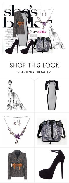 """Newchic 18"" by dinka1-749 ❤ liked on Polyvore featuring Tom Ford, Giuseppe Zanotti and vintage"