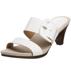 Click on the image for more details! - Bandolino Women's Oliviah Slide,White,6 M US (Apparel)