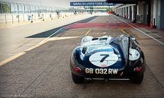 John & Gary Pearson - Long Nose Jaguar D Type No.7 - 2013 Silverstone Classic   Flickr - Photo Sharing!