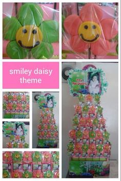 Flower Pastillas by SweetBlooms Smiley, Art Ideas, Daisy, Summer Dresses, Creative, Flowers, Food, Summer Sundresses, Margarita Flower