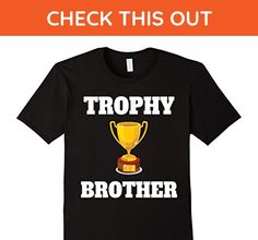 Mens TROPHY BROTHER Shirt | Men's Vintage Style Trophy Brother 3XL Black - Relatives and family shirts (*Amazon Partner-Link)