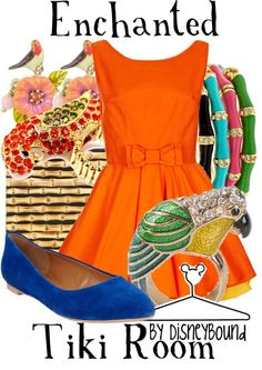"""""""Enchanted Tiki Room"""" by lalakay on Polyvore"""