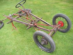 Pedal Cars, Race Cars, Classic Mini, Classic Cars, Go Kart Frame, Austin Seven, Kids Cars, Antique Trucks, Car Parts