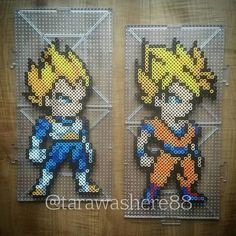 Dragon Ball perler beads by tarawashere88