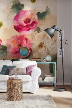 Flowers pretty much go with any interior style.