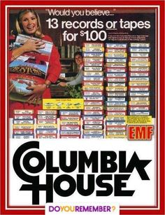 Ads were always in the magazines in the mid 70's to the mid 80's