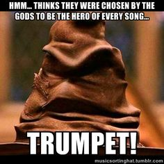 """The Music Sorting Hat What does it mean by """"thinks""""?"""