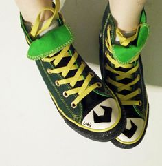 kid loki shoes by ~foxyjoy on deviantART