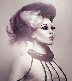 Make-up, styling by Oksan Slipchenko