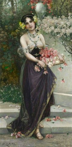 simena:  Hans Zatzka - The maidens of Spring