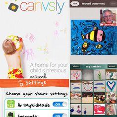 Apps For Storing Kids' Artwork | POPSUGAR Moms