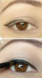 Step By Step: How To Apply Eyeliner For Beginners - Want to do it yourself? Click on the image for the tutorial!
