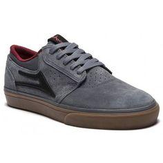 [Lakai] Griffin Chocolate Grey Gum Suede Men Shoes Skateboard Athletic Clothing #Lakai #Skateboarding