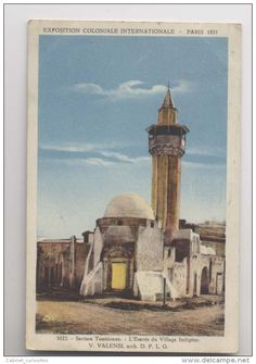 Exposition Coloniale - Paris 1931 - Section Tunisienne - Entrée du Village Indigène