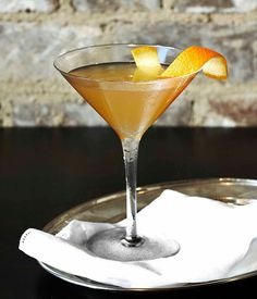 Signature drink: Sky Room's Miss Honey Ryder :: Gourmet Traveller