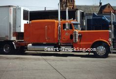Bad Ass all the way. This Custom Stretch 359 Peterbilt didn't have a lot of bells and whistles back then like the newer rigs today. But MAN was this thing LONNGGGG...... and powerful. What a machine... LOVE those long hoods!! http://www.smart-trucking.com/359-peterbilt.html