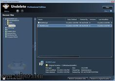 Get the Undelete Professional Edition software for windows for free download with a direct download link having resume support from Softpaz - https://www.softpaz.com/software/download-undelete-professional-edition-windows-47096.htm - just click the download button on that page